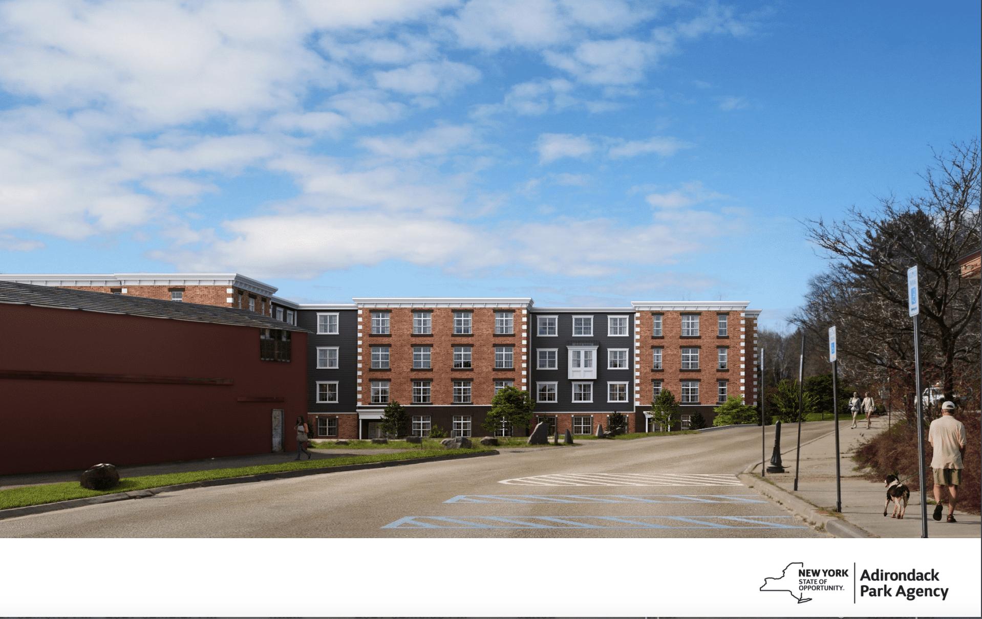 Parkview Development rendering