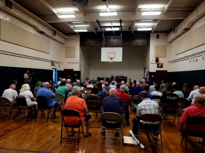 Forestport meeting about White Lake quarry