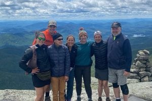 Mt. Marcy connects old friends and new challenges
