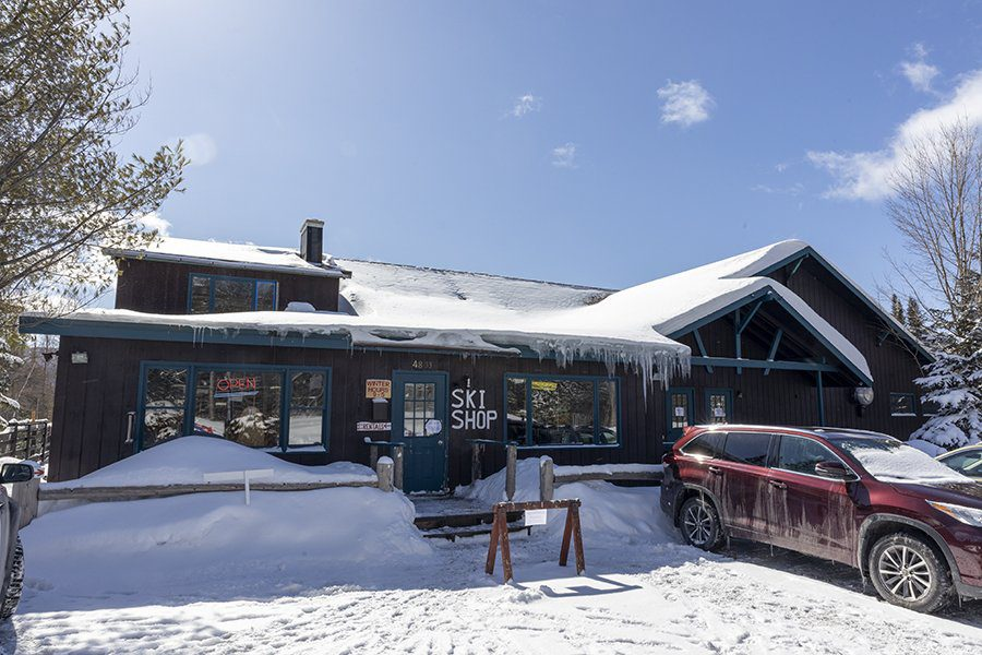 """The Adirondack Mountain Club is exploring the idea of purchasing the Cascade Ski Center, located on Route 73 outside of Lake Placid. """"It really checks a lot of boxes for us,"""" said ADK Executive Director Michael Barrett about Cascade. """"We'd be really interested in continuing the ski center, making sure the public had access to the property for skiing purposes. But the rest of the year, when the ski center is not operational, we definitely see the benefits of putting in a strategic hiker information center."""" Photo by Mike Lynch"""