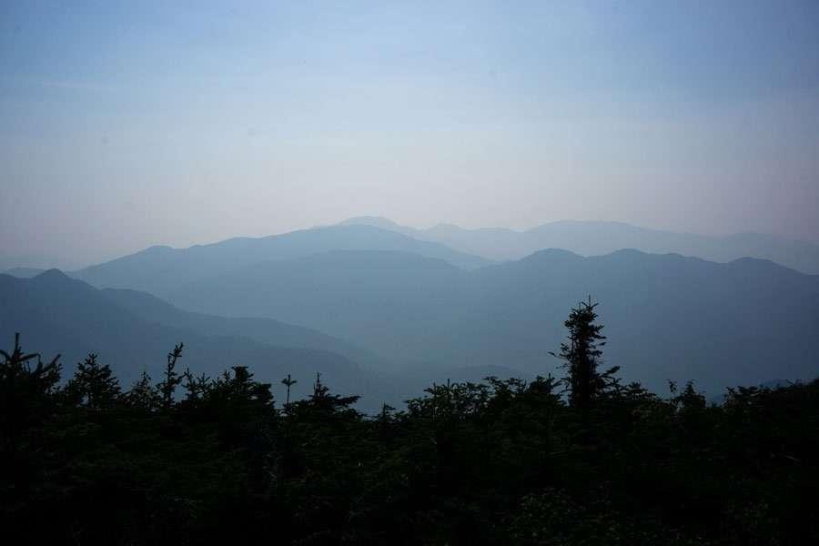 hazy view from haystack