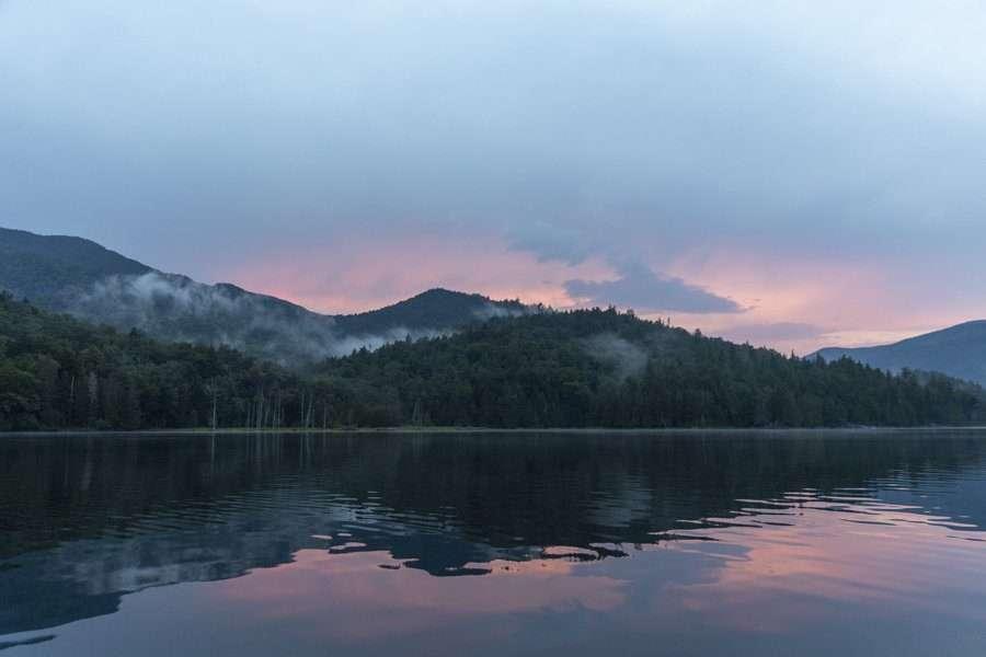 Henderson Lake sunset