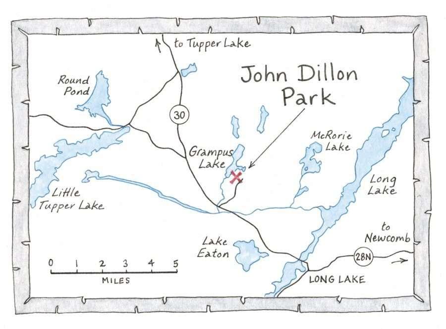 john dillon park map