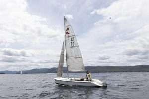 Adaptive sailing on Lake George