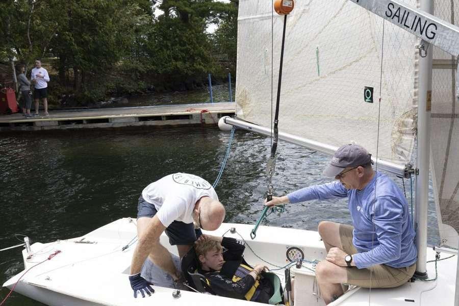 Lake George sailing