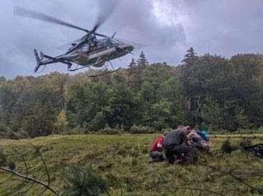 Johns Brook rescue