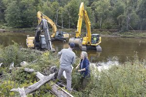 Undoing industry's impact on a river
