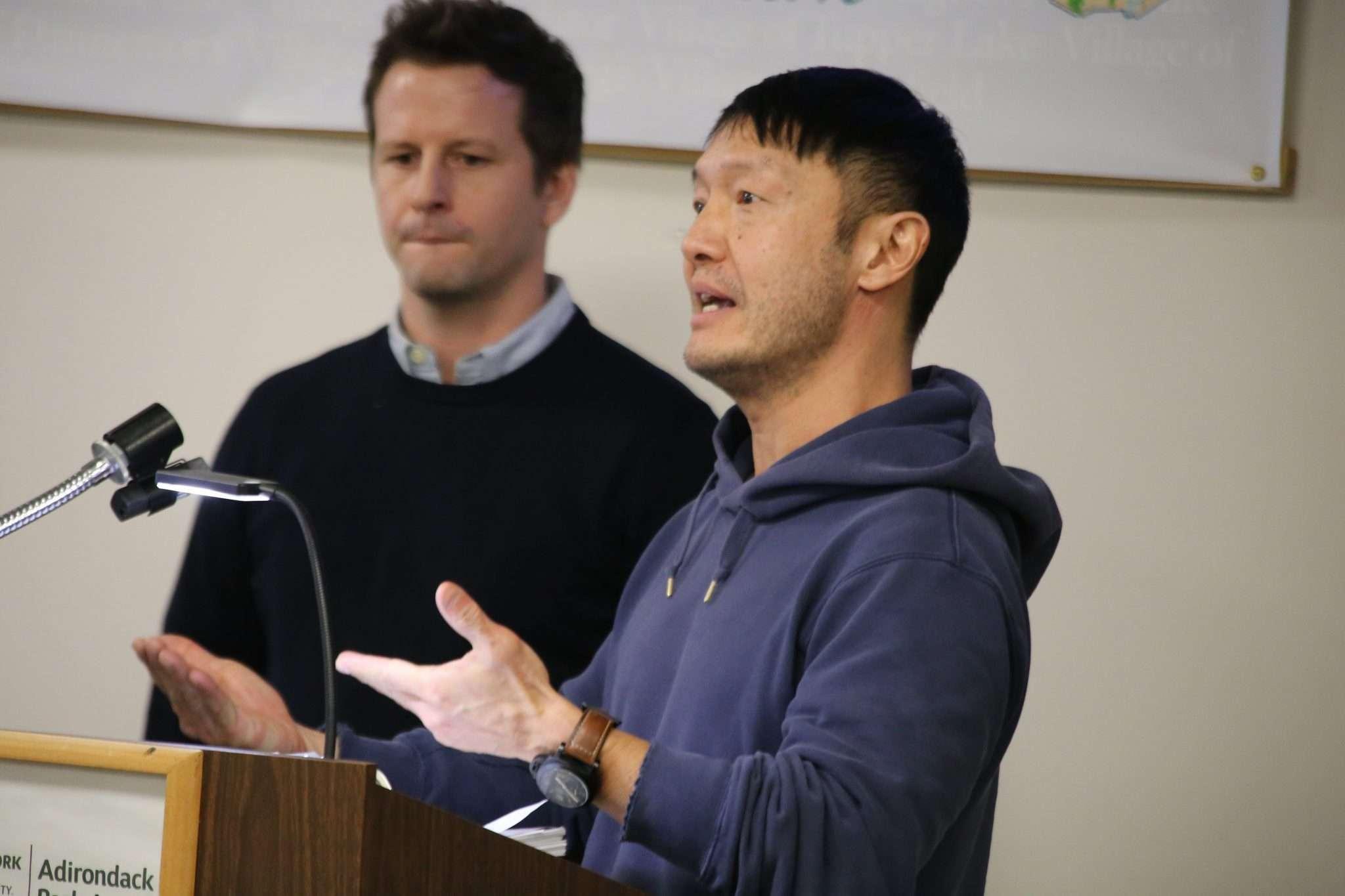 Jeffrey Lee at APA hearing