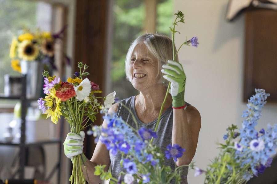 Ellen Beberman of Sunwarm Gardens