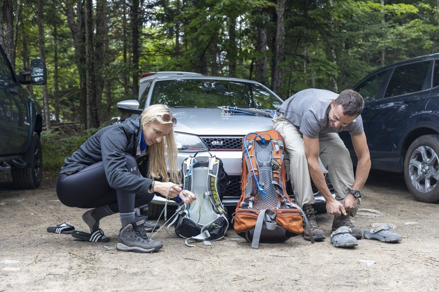 Because the Adirondack Park doesn't have gates and traditional entrances like many state and national parks, there isn't an immediately obvious place for hikers to go to get information about trails when they enter the High Peaks Region. Photo by Mike Lynch