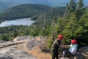 Air rescue from Crane Mountain