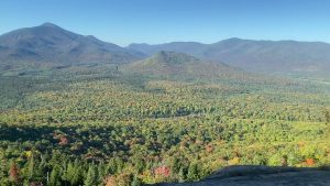 View of fall colors from Mount Van Ho