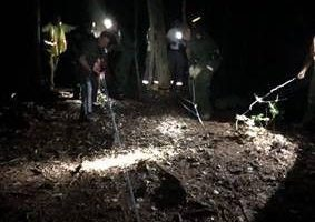 Rangers perform technical ropes rescue in Tug Hill State Forest